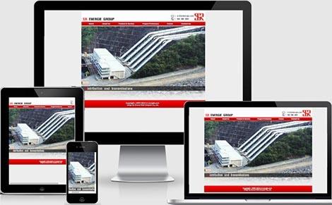 ทำเว็บไซต์ พลังงาน บ่อน้ำมัน เครื่องแปลงไฟฟ้า และแบตเตอรี่