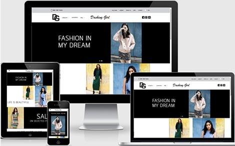 รับทำเว็บไซต์ ขายเสื้อผ้าแฟชั่น