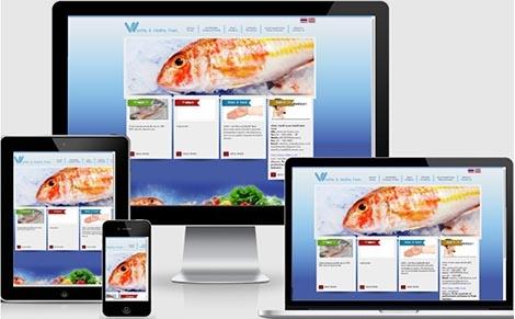 บริษัทรับทำเว็บไซต์ ส่งออกเนื้อสุกรชำแหละ และอาหารทะเล
